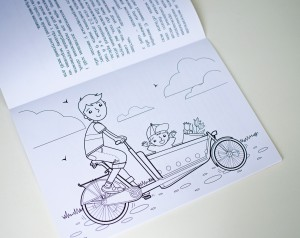 Color The Netherlands - Educational coloring book for Ukrainian children - Illustrated by Oksancia for Netherlands Embassy in Kiev, Ukraine