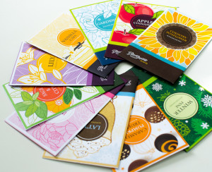 Custom Packaging Design by Oksancia - scented sachets for Floral Simplicity