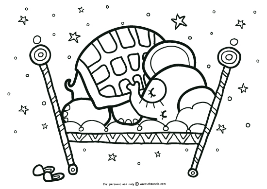 sleep tight coloring page click