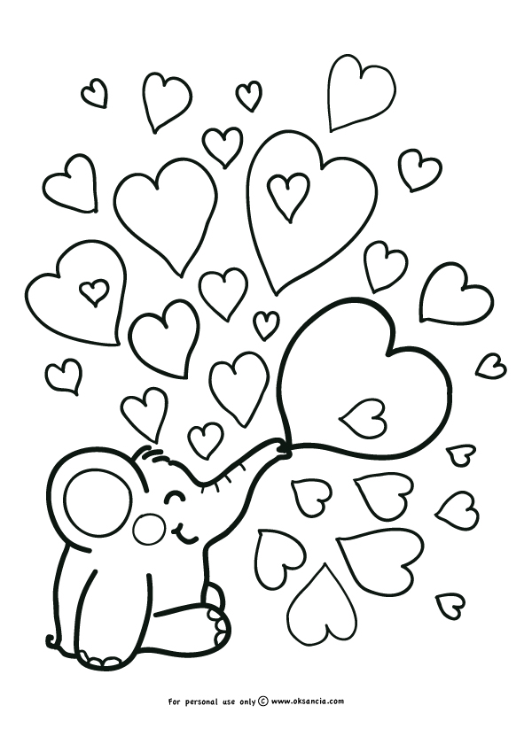Say I Love You Hearts Mom Colouring Pages Page 2 Chevrolet Cars