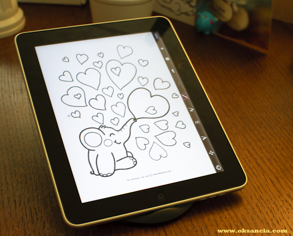 Coloring Pages For Ipad Pro Turn Previews Of My Printable Into