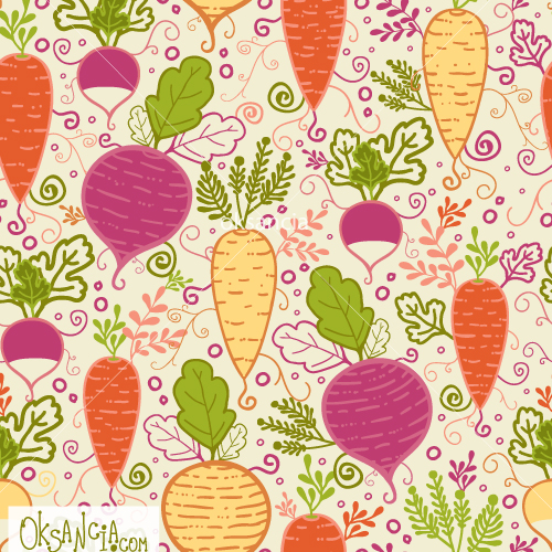 Vegetable pattern - photo#20