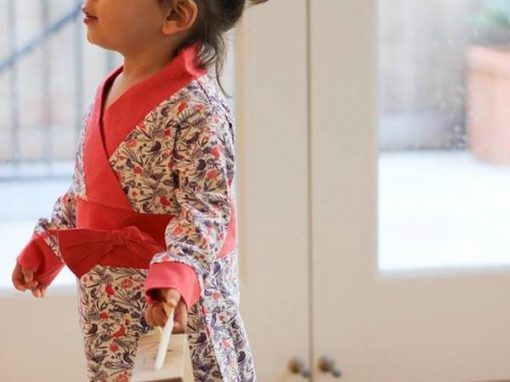 Origany Red Bird Print – Children's Clothing Line