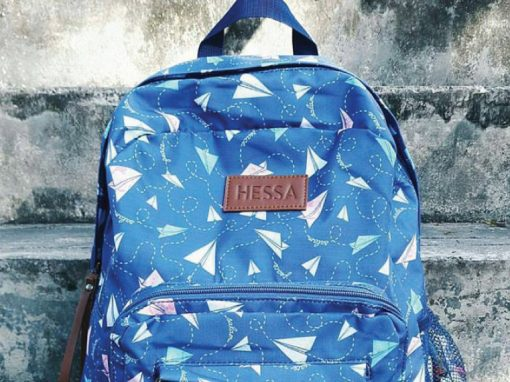 Salam Backpack (Paper Airplanes)
