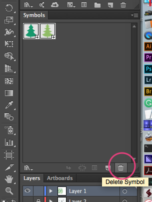 How to remove unnecessary panel elements in Adobe Illustrator CC