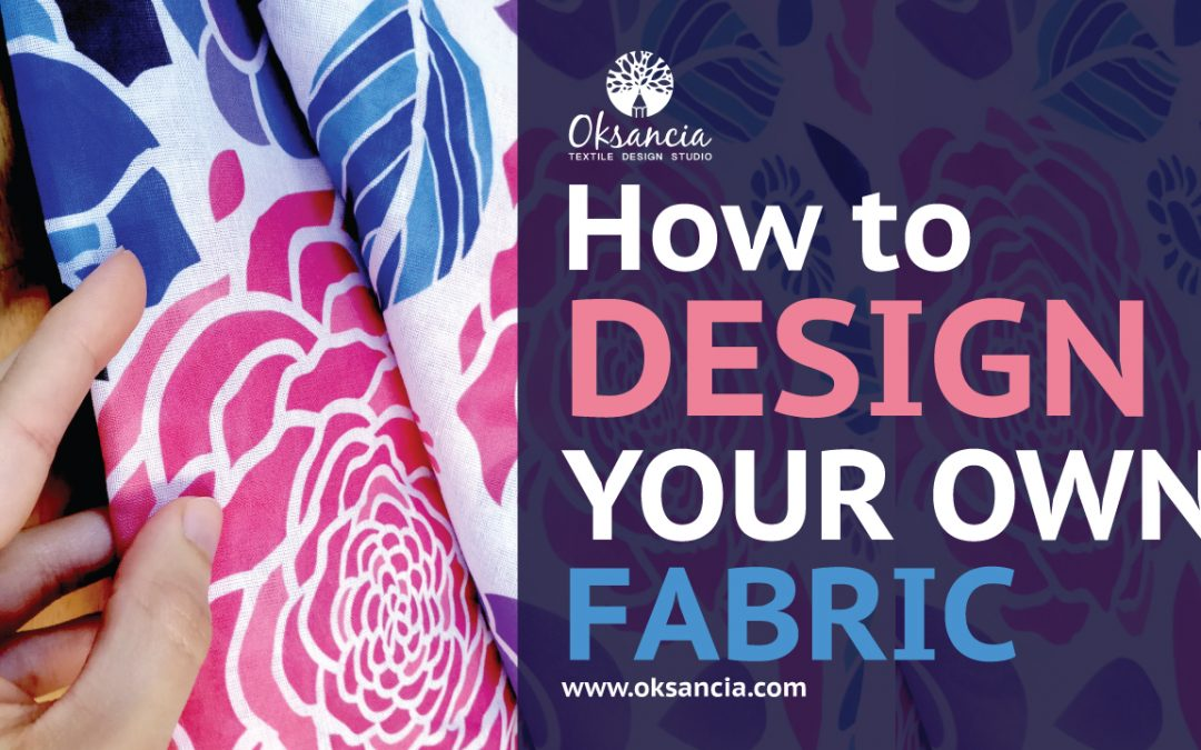 how to add your own pattern to fabric