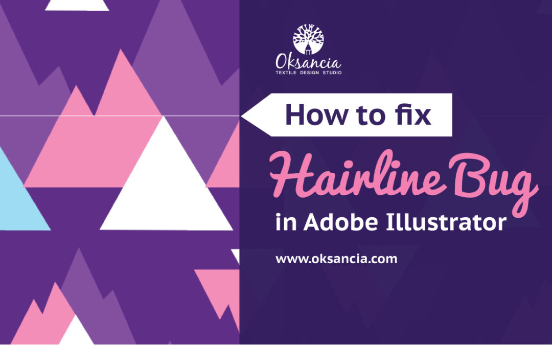 How To Fix The Hairline Thin Line Bug In Adobe Illustrator Vector
